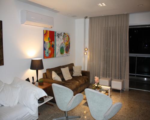 Sala de Estar - Apartamento em Icaraí Niterói (1)