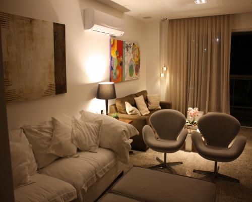 Sala de Estar - Apartamento em Icaraí Niterói (2)