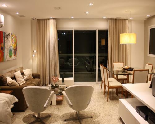 Sala de Estar - Apartamento em Icaraí Niterói (3)