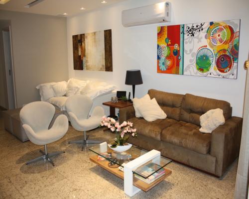 Sala de Estar - Apartamento em Icaraí Niterói (5)