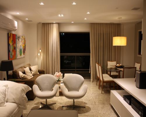 Sala de Estar - apartamento em icaraí Niterói (4)