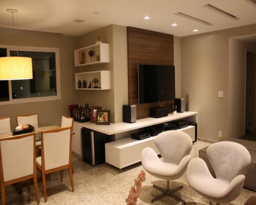 Sala de Jantar e Estar - apartamento em Icaraí Niterói (12)