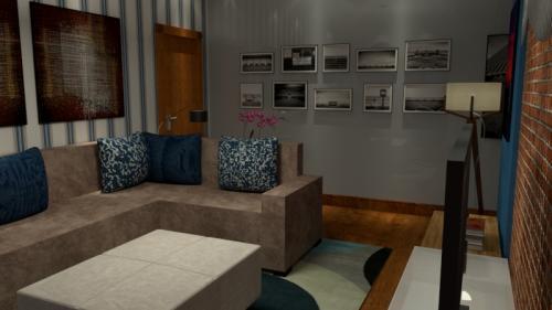 Projeto Home Theater - Casa em Itaipava - vista 1