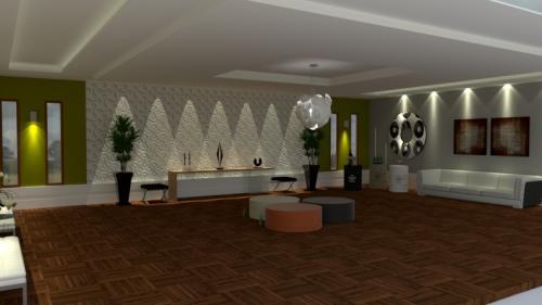 Projeto 3D Lounge